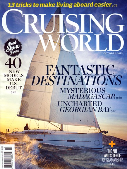 Cruising World Cover - 10/1/2013