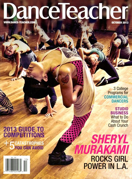 Dance Teacher Cover - 10/1/2013