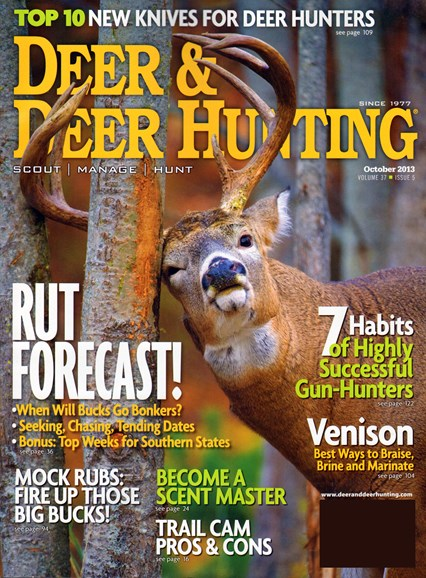 Deer & Deer Hunting Cover - 10/1/2013