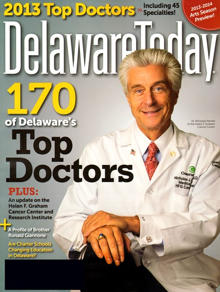 Delaware Today Cover - 10/1/2013