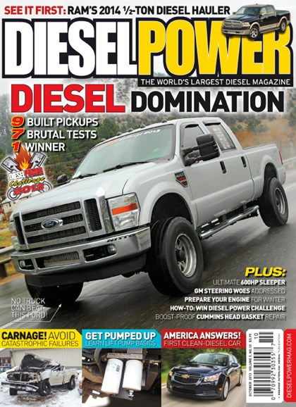 Diesel Power Cover - 10/1/2013