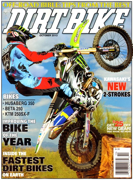 Dirt Bike Cover - 10/1/2013