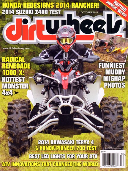 Dirt Wheels Cover - 10/1/2013
