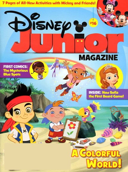 Disney Junior Cover - 10/1/2013