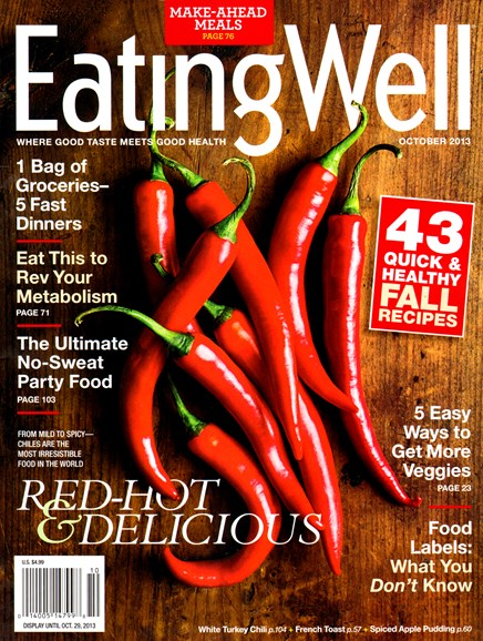 EatingWell Cover - 10/1/2013