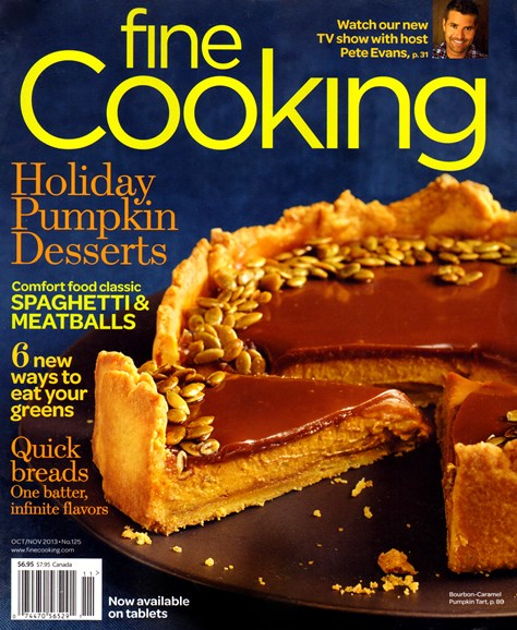 Fine Cooking Cover - 10/1/2013