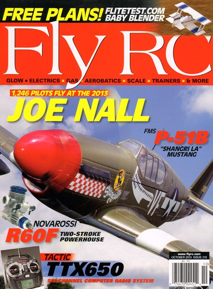 Fly RC Cover - 10/1/2013