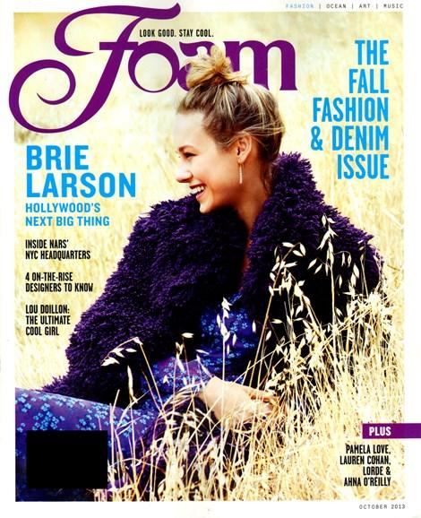 FOAM Cover - 10/1/2013