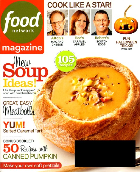 Food Network Cover - 10/1/2013