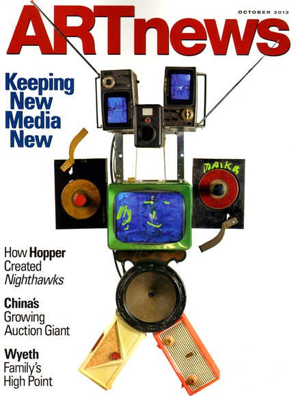 ARTnews Cover - 10/1/2013