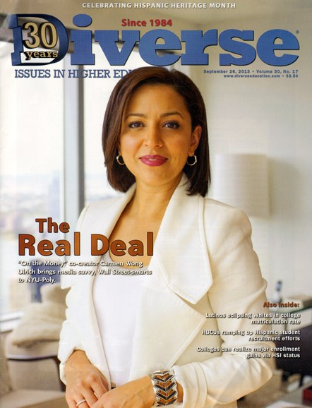 Diverse: Issues In Higher Education Cover - 9/26/2013