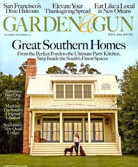 Garden & Gun Cover - 10/1/2013