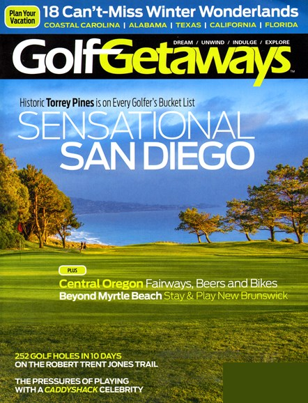 Golf Getaways Cover - 10/1/2013