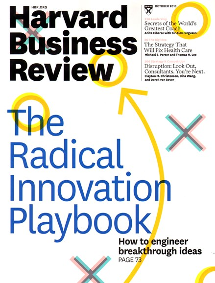 Harvard Business Review Cover - 10/1/2013