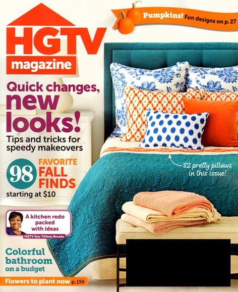 HGTV Cover - 10/1/2013
