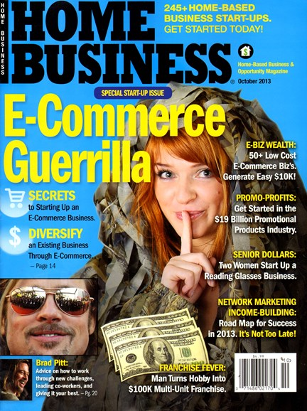 Home Business Magazine Cover - 10/1/2013