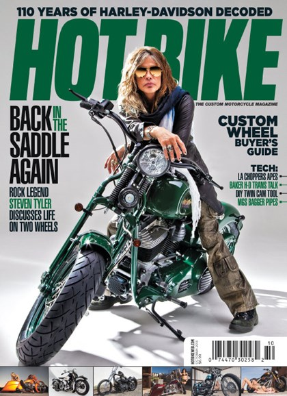 Hot Bike Cover - 10/1/2013