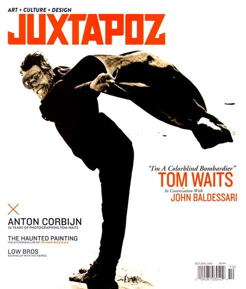 Juxtapoz Cover - 10/1/2013
