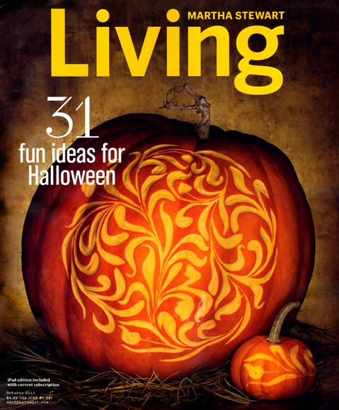 Martha Stewart Living Cover - 10/1/2013