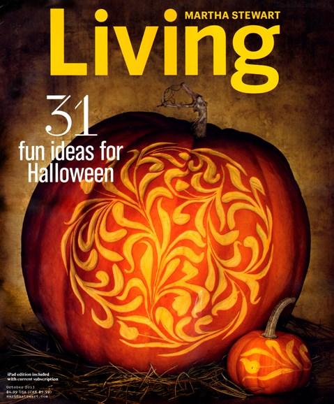 Martha Stewart Living Cover - 10/1/2013