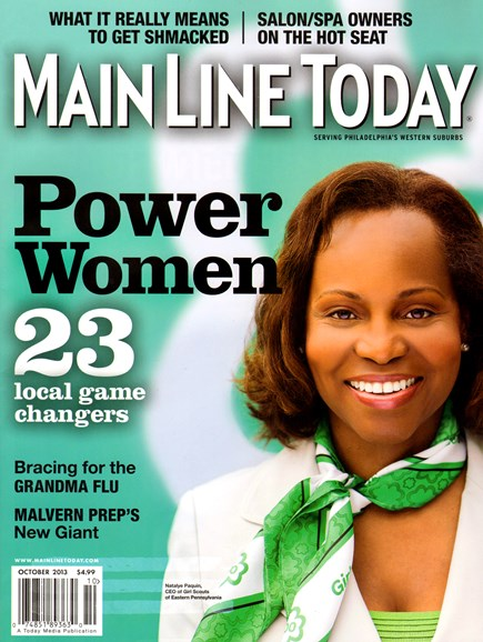 Main Line Today Cover - 10/1/2013