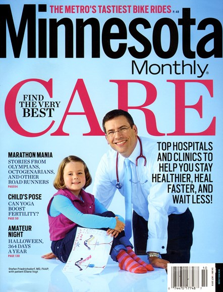 Minnesota Monthly Cover - 10/1/2013
