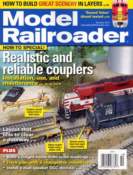 Model Railroader Cover - 10/1/2013