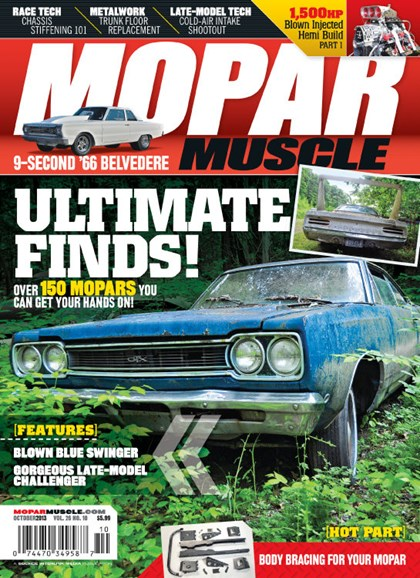 Mopar Muscle Cover - 10/1/2013