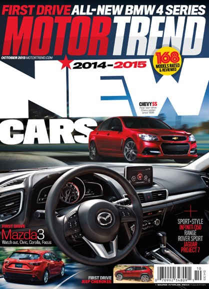 Motor Trend Cover - 10/1/2013