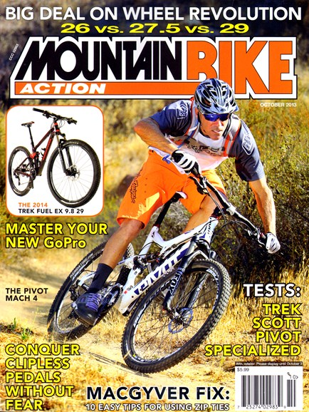 Mountain Bike Action Cover - 10/1/2013