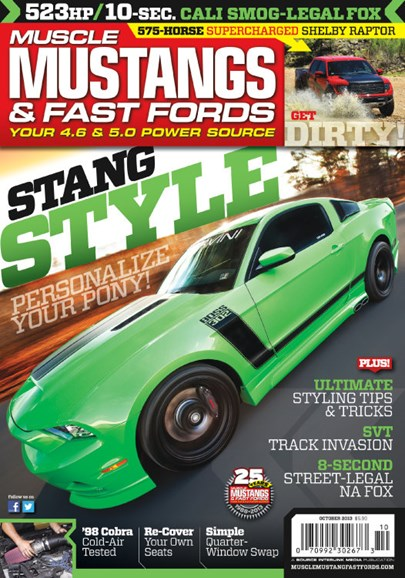 Muscle Mustangs & Fast Fords Cover - 10/1/2013