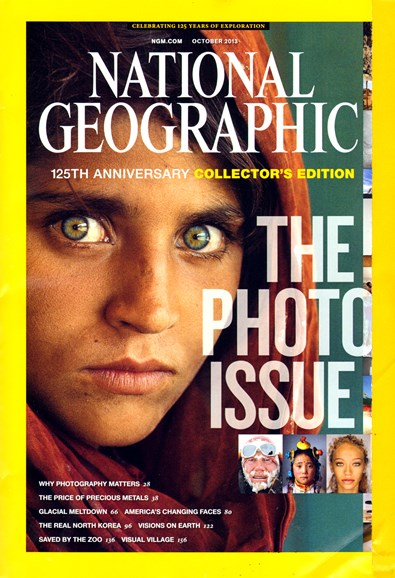 National Geographic Cover - 10/1/2013
