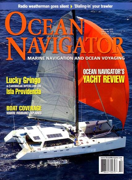 Ocean Navigator Cover - 10/1/2013