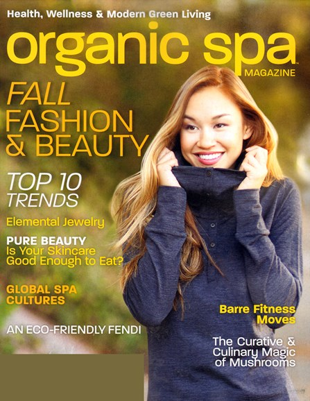 Organic Spa Cover - 10/1/2013