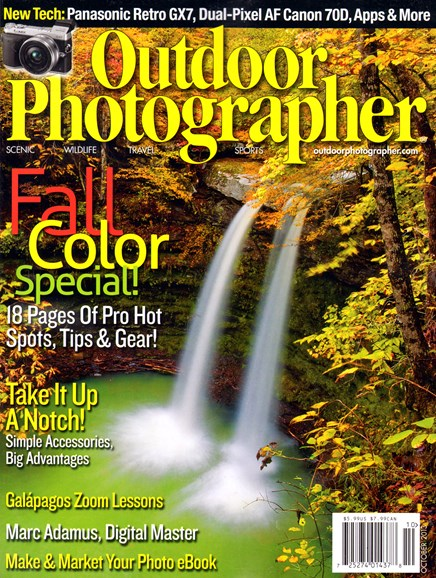 Outdoor Photographer Cover - 10/1/2013