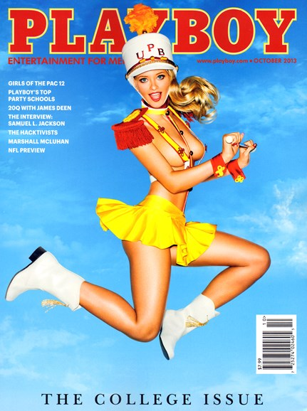 Playboy Cover - 10/1/2013