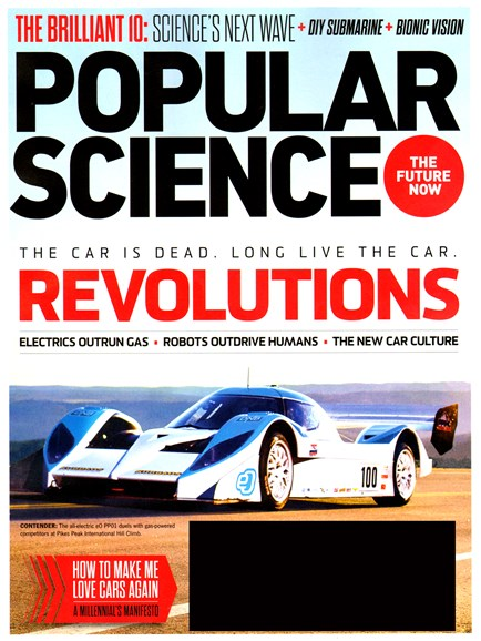 Popular Science Cover - 10/1/2013