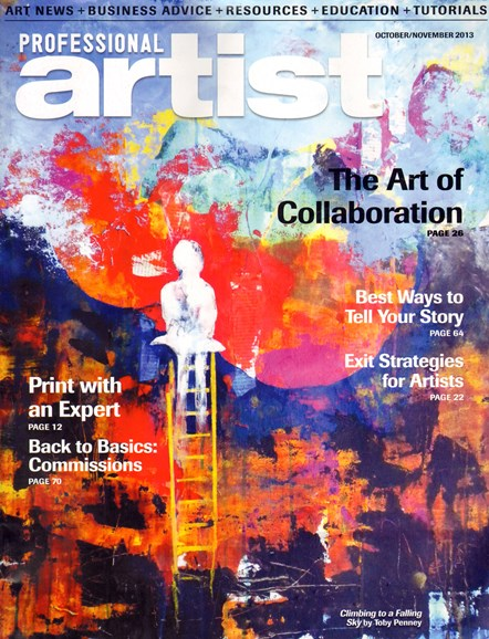 Professional Artist Cover - 10/1/2013