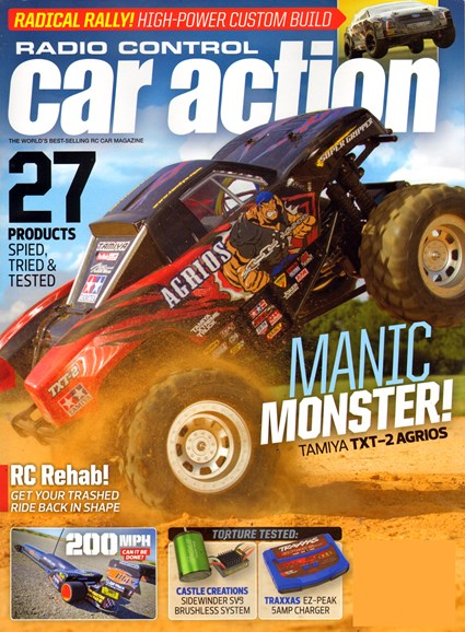 Radio Control Car Action Cover - 10/1/2013
