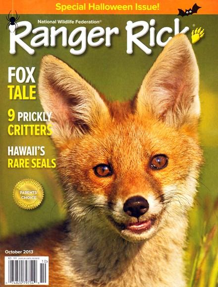 Ranger Rick Cover - 10/1/2013