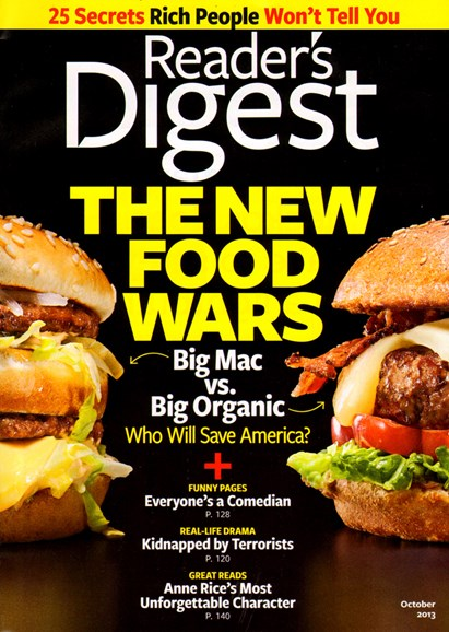 Reader's Digest Cover - 10/1/2013