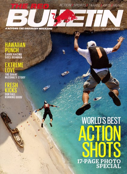 The Red Bulletin Cover - 10/1/2013