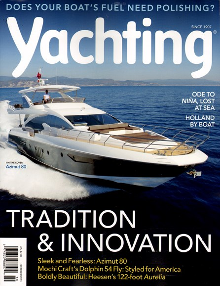 Yachting Cover - 10/1/2013