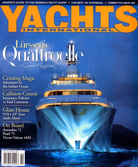 Yachts International Cover - 10/1/2013