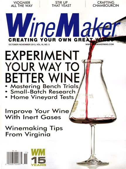 Winemaker Cover - 10/1/2013