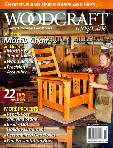 Woodcraft Cover - 10/1/2013
