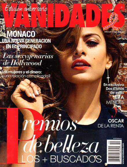Vanidades Cover - 10/1/2013