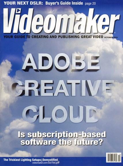 Videomaker Cover - 10/1/2013