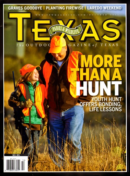 Texas Parks & Wildlife Cover - 10/1/2013
