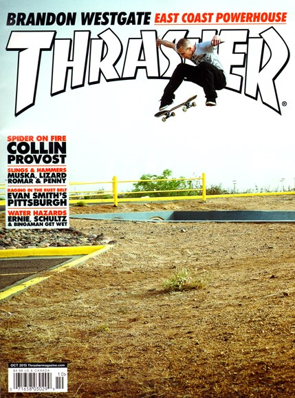 Thrasher Cover - 10/1/2013